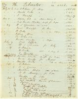 Liberator Accts, 1839