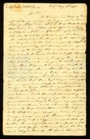 [Letter from Rich'd Adams and Wm. Griffin to Messrs. Saml. & Wm. Vernon]