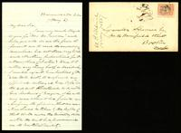 [Letter from A. P. Aldrich to Lysander Spooner]