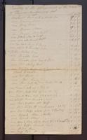 Inventory of the Appraisment of the Estate of Thomas Montgomery