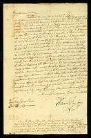 [Letter from William Taylor to Thomas Vernon]