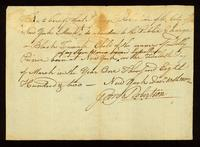 [Birth certificate of a Black female child of the name of Dolly Prince]