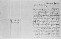 [Manuscript draft of a letter from L. Spooner to Gerrit Smith]