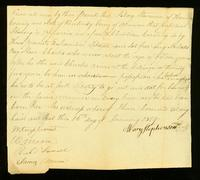 [Deed of Gift between William Moore and Samuel Moore]