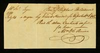 [Bill of sale for a slave named Handal]