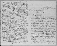 [Letter from Wm. Goodell to Lysander Spooner]