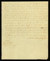 Bill of Sale between Nelson Hundley and Elizabeth Clark