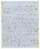 [Letter to Wendell Phillips, Francis Jackson, and Samuel Philbrick]