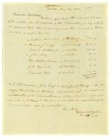 Pledges for Liberator, 1839