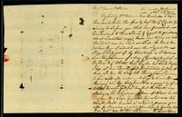 [Letter from Wm. Pinniger to Messrs. Vernon & Stevens]