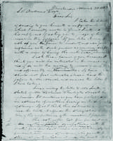 To Gerrit Smith March 14, 1847, also to S.P. Andrews, March 31, 1847, also copy of Gerrit Smith's answer March 20, '47.