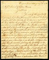 [Letter from Chs. Yates to Messrs. Samuel & William Vernon]