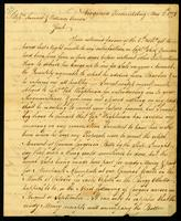 [Letter from John Thornton to Messrs. Samuel & William Vernon]