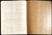 Vol. 37, minutes of the September 14 [continued] and October 11, 1923 after-care committee meetings; lower cover, verso.