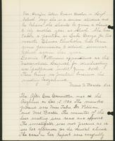 Vol. 38, minutes of the July 11, 1924 after-care committee meeting [continued]; minutes of the October 10, 1924 after-care committee meeting.