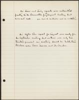 Vol. 38, notes regarding the June, July and August 1927 minutes of the after-care committee.