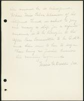 Vol. 38, minutes of the March 13, 1931 after-care committee meeting [continued].