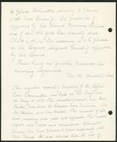 Vol. 38, minutes of the April 17, 1933 after-care committee meeting [continued]; minutes of the May 12, 1933 after-care committee meeting.