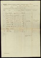 [Manifest of the Steamer Baltimore]