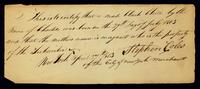 [Birth certificate of a male black child by the name of Charles]