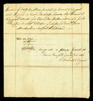 Invoice of sixty-one slaves purchased by Samuel C. Taggart