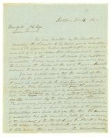 [Letter from Francis Jackson and Edmund Quincy to Wendell Phillips]