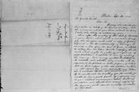 [Letter from Bela Marsh to Gerrit Smith and manuscript copy of Smith's reply]
