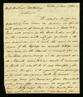 [Letter from S. B. and C. H. to Winthrop Todd & Winthrop]