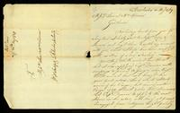 [Letter from Val Jones to Messrs. Samuel & Wm. Vernon]