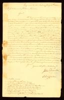[Letter from John Thornton and Chs. Yates to Messrs. Samuel & William Vernon]