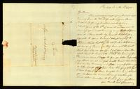 [Letter from G. D. Sweet to Messieurs Saml. & Wm. Vernon]