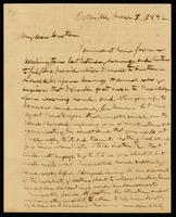 [Letter from Theodore D. Weld to Rev. R. J. Judd]
