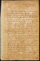 William Atlee letter to Joseph Nourse, 1777