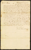 Edward Annely letter to William Kempe, Esq., 1754
