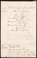 """""To the Superior Court of the City of New York, Alexander J. Davis agst Alvin Higgins, George Higgins  14th Augst, 1865 """""""
