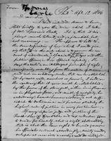 [Letter from Thomas Earle to George Bradburn]