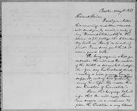 [Letter from L. Spooner to Friend Paine]