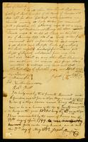 [Deed of manumission by Josiah Crawford of the female slave named Penny and her son Woodford]