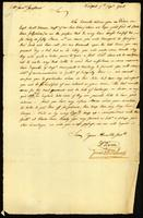 [Letter from Wm. Vernon and Jonas & Wm. Redwood to Mr. Saml. Sanford]