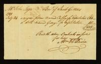 [Bill of sale for two slaves named Cuffee and George]