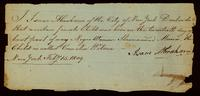 [Birth certificate of Cornelia Wilson]