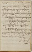 Ebenezer Stevens letter to Brigadier General A. Giles, dated New York, February 23, 1808.