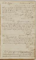 Ebenezer Stevens letters to Lieutenant Colonel Paulding, dated New York, March 29, 1808, Brigadier General A. Giles, March 1, 1808, Major Prine [?], March 1, 1808, and memorandum.