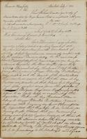 Ebenezer Stevens letters to General Bloomfield, dated New York, July 15, 1812, and to Daniel D. Tompkins, July 17, 1812.