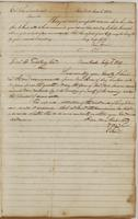 Ebenezer Stevens letters to Colonel John Swartwout, dated New York, June 1, 1813, and Daniel D. Tompkins, July 8, 1813.