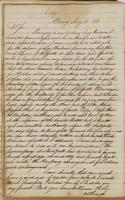 Copy of letter from Daniel D. Tompkins to Brigadier General Rose, dated Albany, July 12, 1813.