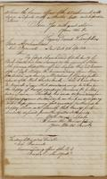Copy of letter from Daniel D. Tompkins to Brigadier General Rose, dated Albany, July 12, 1813 (continued) and unsigned letter to General Abraham Rose, dated New York, September 9, 1813.