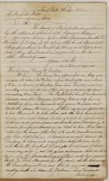 Unsigned letters to Colonel Richard Platt, dated New York, September 8, 1813, and Daniel D. Tompkins, September 9, 1813.