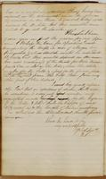 Ebenezer Stevens letter to Colonel John R. Fenwick, dated New York, November 8, 1813 (continued).