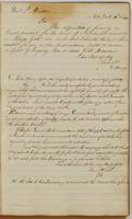 Ebenezer Stevens letters to General J. Morton, dated New York, November 10 [?], 1813 and General Porter, January 11, 1814